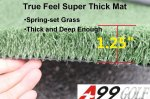 A99 Golf True Feel Mat I super thick mat 36*60""