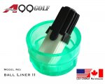 A99 Golf Ball Liner II Marker Alignment Tool Ball Plastic