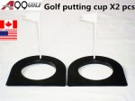 A99golf putting cup 2PCS with Flag