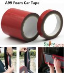 Spicybuys Foam Car Tape Double Sided Adhesive Tape Strong Adhesion